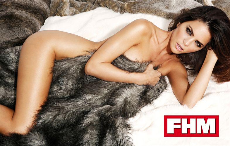 Romina Belluscio, novia de Guti en FHM