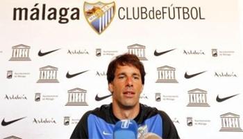 Ruud Van Nistelrooy durante una rueda de prensa