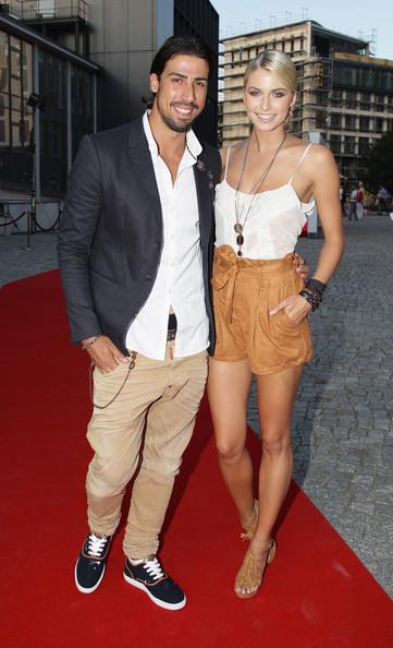 Sami Khedira y su novia Lena Gercke