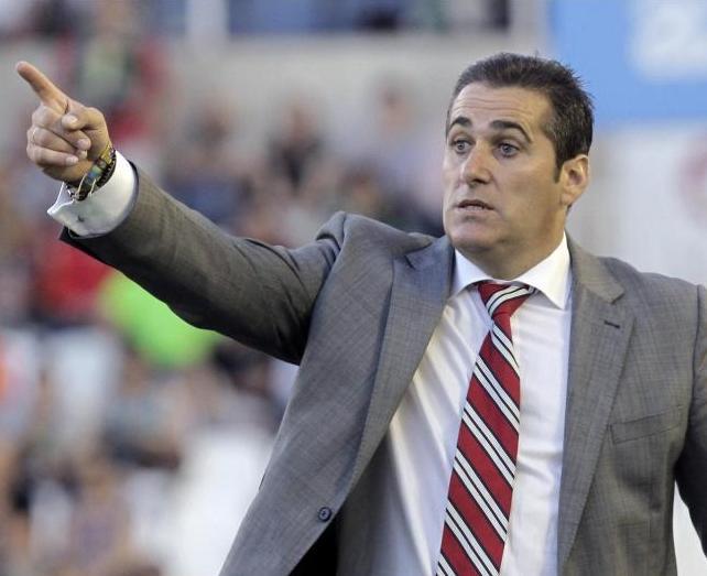 Sandoval ha llegado a Primera con nuevas ideas. Foto:lainformacion.com/EFE