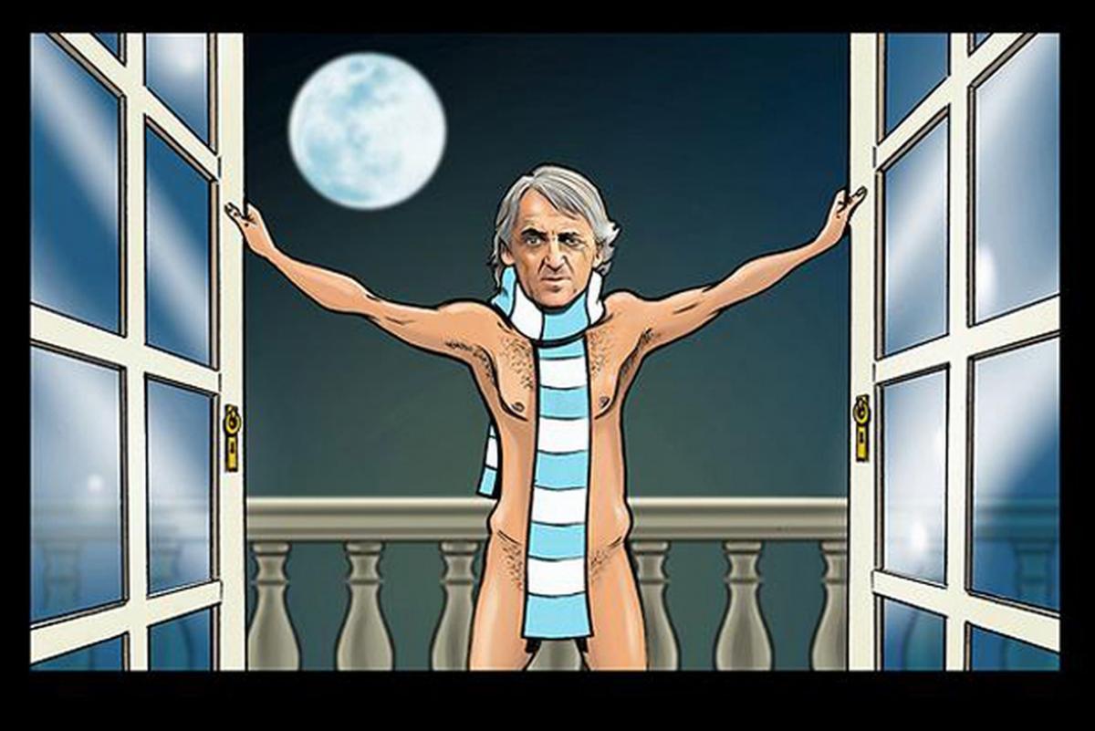 Roberto Mancini calendario sexy