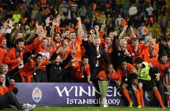 Shakhtar Donetsk se proclama Campeón de la UEFA/ futbolprimera.es