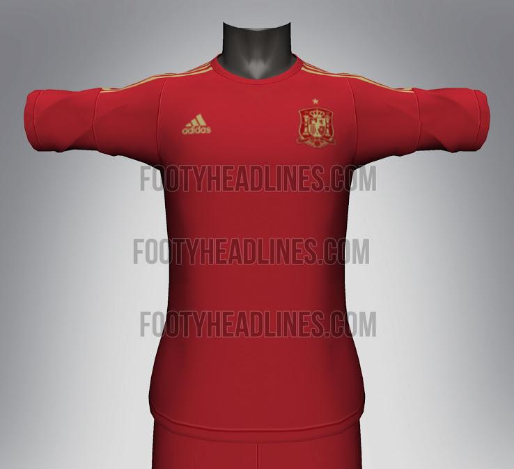 Camiseta de España para Mundial 2014
