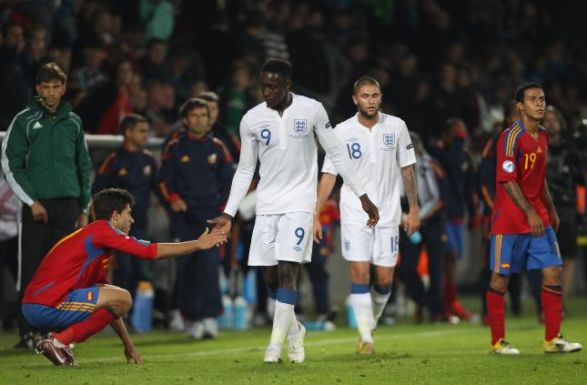 España sub 21 vs Inglaterra sub 21/ lainformacion.com/ Getty Images