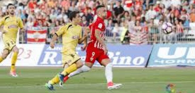 Almería y Reus en su último enfrentamiento liguero