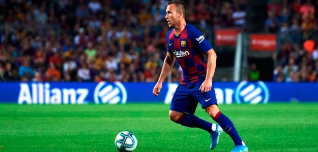 ¿Dónde tiene que jugar Arthur Melo?. FOTO: FC BARCELONA
