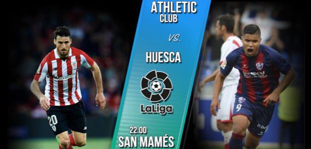 Athletic Club-Huesca, duelo inédito en liga.