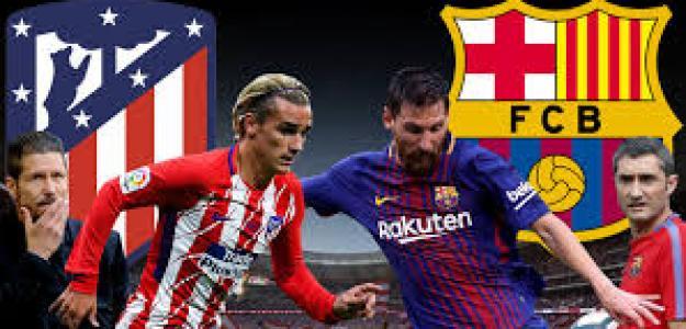 Atlético y Barça se juegan el liderato
