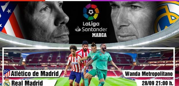 Atlético-Real Madrid, derbi de alto voltaje