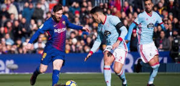 Una acción de Messi en un partido anterior