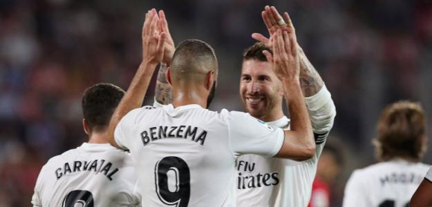 Benzema y Sergio Ramos