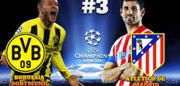 Borussia-Atlético, se disputan el liderato de su grupo.