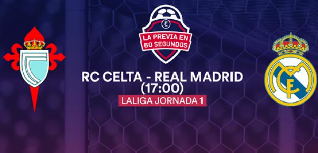 El Celta medirá el potencial del Madrid.