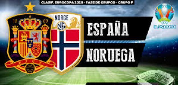 España y Noruega disputarán su primer encuentro clasificatorio para la Eurocopa de 2020.