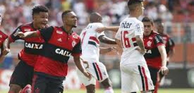 Flamengo-Sao Paulo, duelo de gallitos.