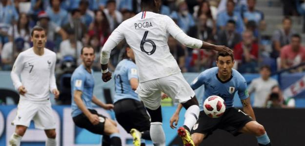 Francia-Uruguay, reviviendo el Mundial de Rusia.