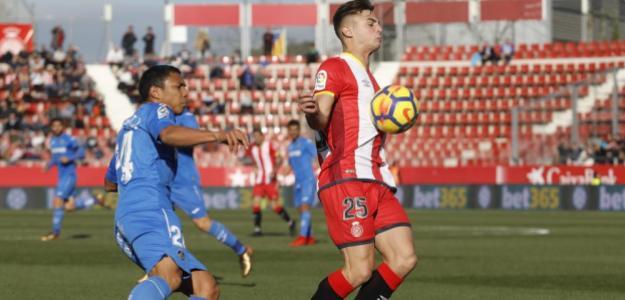 Girona y Getafe en un enfrentamiento anterior