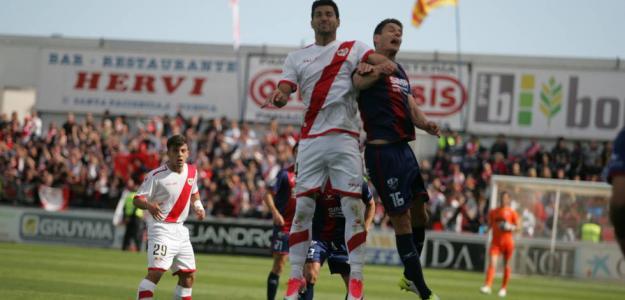 Huesca vs Rayo en un encuentro de la anterior temporada