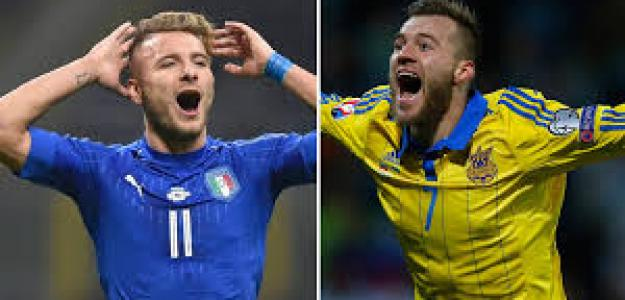 Italia y Ucrania, dos de las principales selecciones ausentes del último Mundial
