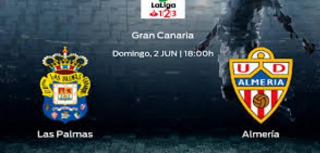 Las Palmas y Almería jugarán un duelo intrascendente.