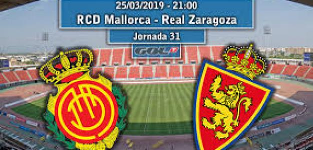 Mallorca-Zaragoza: Distintas realidades, distintos objetivos.