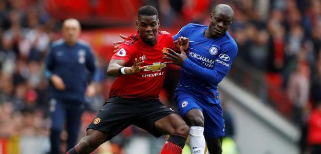 Manchester United y Chelsea cerrarán la jornada de la Premier League.