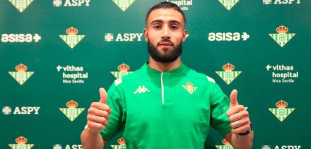 Nabil Fekir, un puls competitivo. FOTO: BETIS