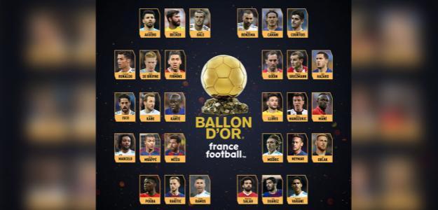 Balón de Oro / twitter