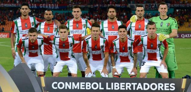 Palestino disputó la Copa Libertadores