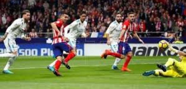 Real Madrid-Atlético en su último enfrentamiento