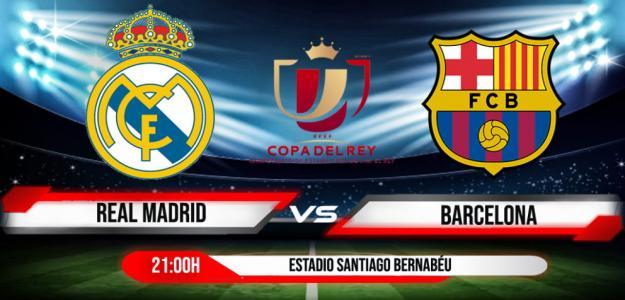 Real Madrid-Barcelona, el gran clásico en la Copa.