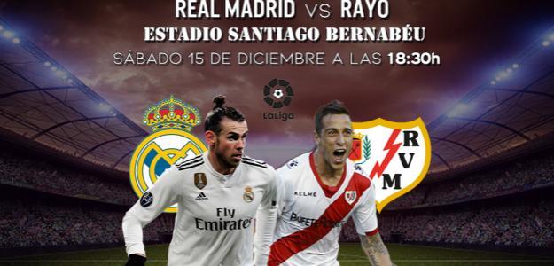 Real Madrid y Rayo Vallecano vuelven a citarse en Primera.