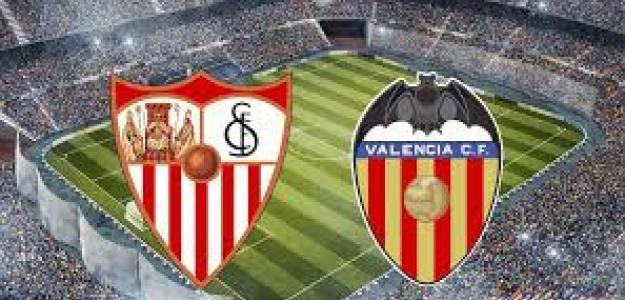 Sevilla-Valencia, un clásico de la liga.