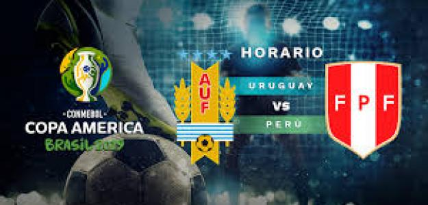 Uruguay y Perú se juegan los cuartos