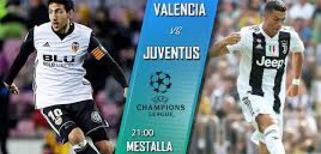 Valencia-Juventus, la Champions vuelve a Mestalla