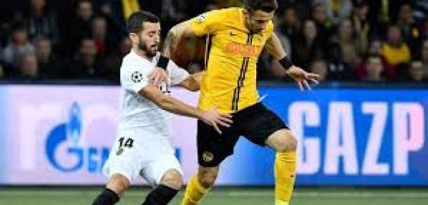 Valencia y Young Boys en su anterior enfrentamiento en Suiza.
