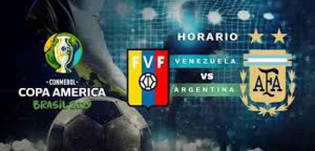 Venezuela y Argentina se juegan los cuartos