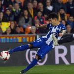Alavés y Valencia en el partido de Copa de la anterior temporada