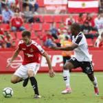 Albacete-Nástic en su último enfrentamiento en el Carlos Belmonte