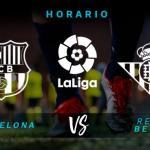 Barcelona y Betis cerrarán la jornada en el Camp Nou.