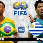 Brasil-Uruguay, un clásico sudamericano.