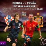 Croacia y España, objetivos distintos.
