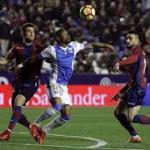 Levante y Leganés en un enfrentamiento de la temporada anterior.