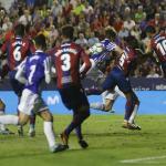 Levante y Real Sociedad en su último duelo en el Ciudad de Valencia.