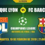 Olympique de Lyon y Barcelona se verán las caras 10 años después