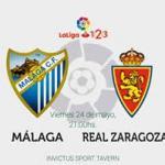 Málaga y Zaragoza, casi nada en juego.