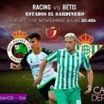 Racing Santander - Betis, partido de reencuentros