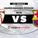 Sevilla-Barça, un clásico de la Liga.
