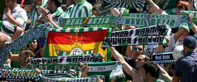 Aficionados del Real Betis Balompie