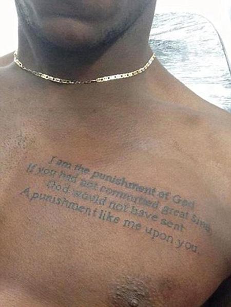 Tatuaje de Mario Balotelli